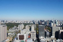 View from Toranomon Hills Residence