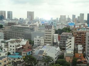 View from higher floor