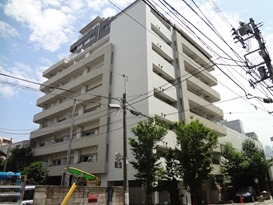 Exterior of KDX Residence Minamiazabu