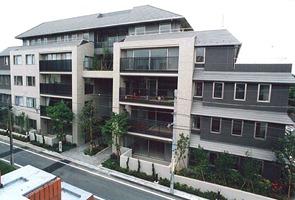 Exterior of Ichigaya Ichozaka Apartment House