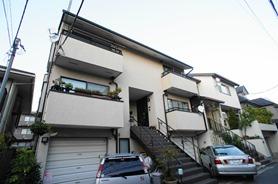 Exterior of Minamiazabu Duplex House