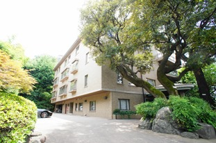 Exterior of Motoazabu Terrace Apartment