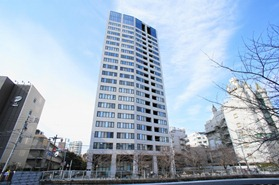 Exterior of Park Cube Meguro Tower