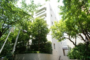 Exterior of Roppongi Hills Residence A