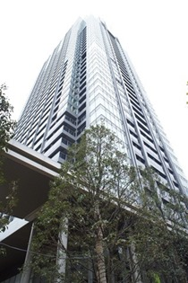Exterior of the roppongi tokyo Club residence