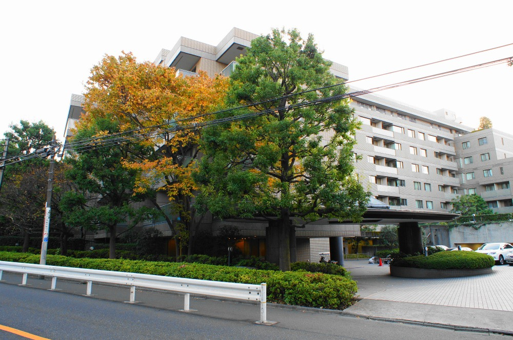the large komazawa olympic park is in about 3 min walk and 200 meter