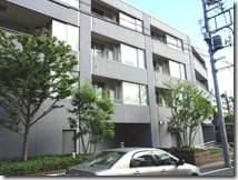 Exterior2 of Gaien Residence Apartment Rent Tokyo