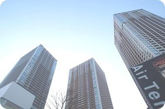 Buildings of Shibaura Island Rentals Tokyo
