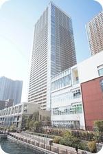 Building of Shibaura Island Rentals Tokyo