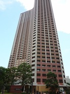 Exterior of Shibaura Island Cape Tower