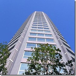 Exterior 1 of Atlas Tower Roppongi Apartment Tokyo Rent