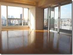 Living room 1 of Works Yotsuya Rentals Tokyo apartment
