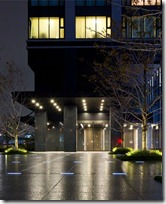 Entrance lobby of City Tower Ariake Rent Tokyo Apartment