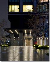 Entrance lobby of City Tower Ariake Rent Tokyo Apartment
