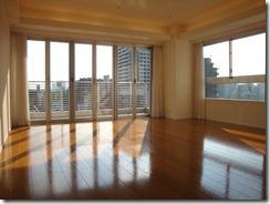 Living room 2 of Works Yotsuya Rentals Tokyo apartment