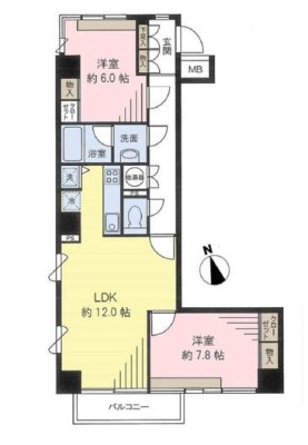 Grand Maison Azabujuban Kan 6F