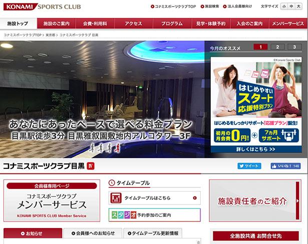 Konami Sports Club Meguro