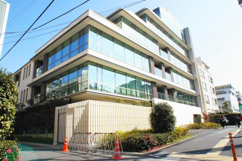 Exterior of 有栖川パークハウス