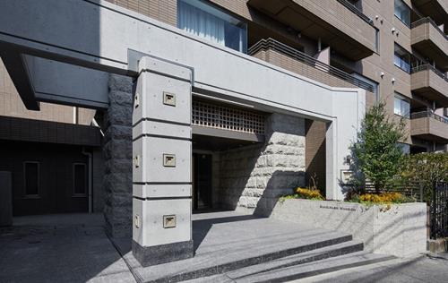 Exterior of Sangubashi Mansion