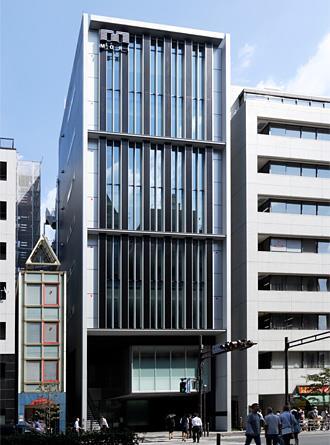 Exterior of Shiba Mita Mori Building