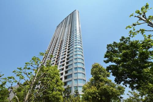 Exterior of Park Court Akasaka The Tower