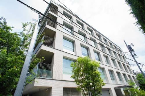 Exterior of Akasaka Terrace House