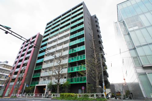 Exterior of Park Habio Shibuya-Kamiyamacho