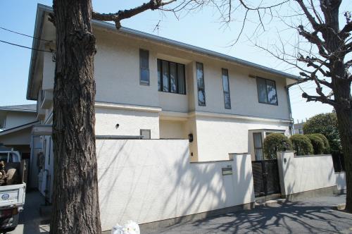 Exterior of Denen Residence A