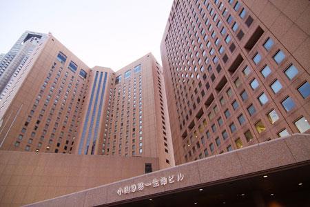 Exterior of Odakyu Daiichi Seimei Building