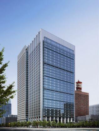 Exterior of Otemachi Financial City North Tower