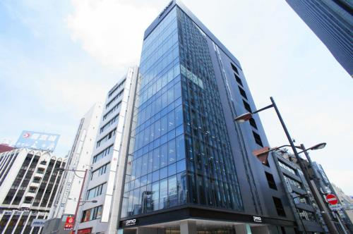 Exterior of PMO GINZA 8CHOME