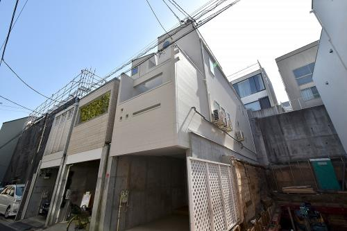 Exterior of Nishiazabu HR House