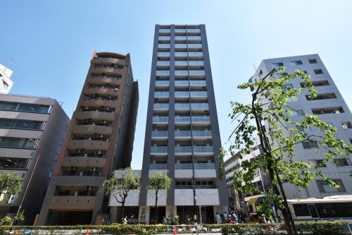 Exterior of Prime Residence Shibuya
