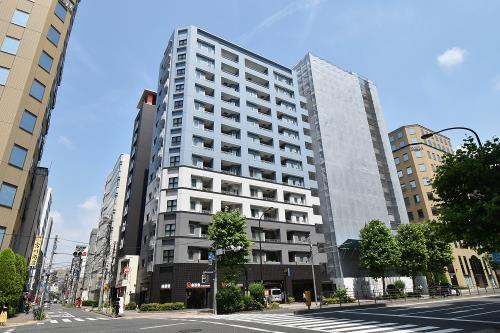 Exterior of Shoukin Apartment Irifune