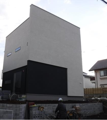 Exterior of Denenchofu 4-chome House