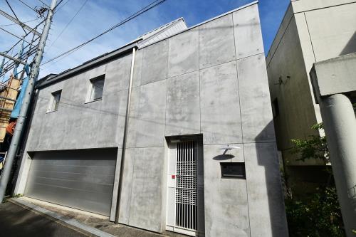 Exterior of Jingumae 3-chome House