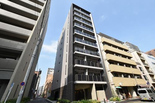 Exterior of Park Axis Tsukiji