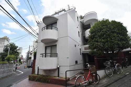 Exterior of タウンハイツ目黒東山