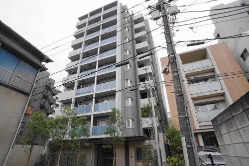 Exterior of Crest Court Shirokanetakanawa