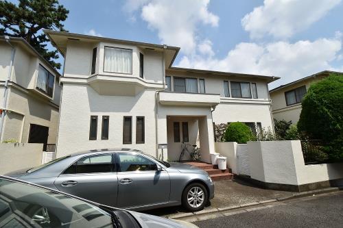 Exterior of Fukazawa 7-chome House B