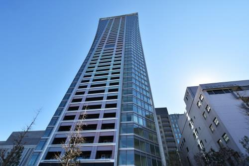 Exterior of Park Court Shibuya The Tower