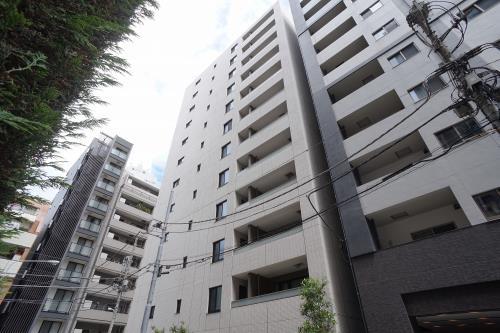 Exterior of Initia Tsukiji Residence