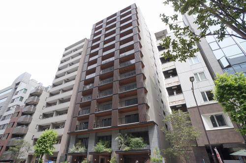 Exterior of Imprest Residence Tokyo Hatchobori the architect