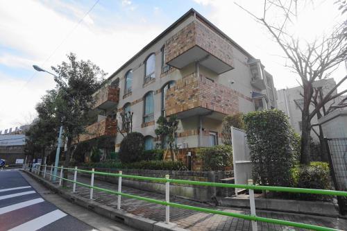 Exterior of First Apartment Mita