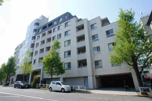 Exterior of Comforia Harajuku