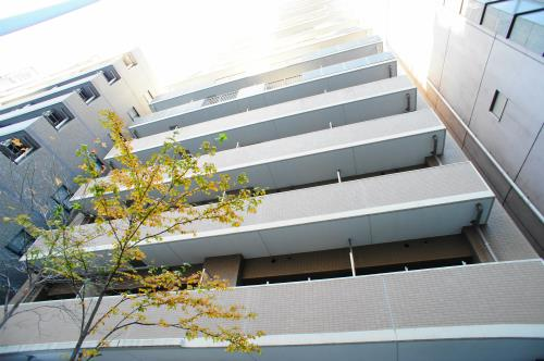 Exterior of KDX Residence Shibakoen