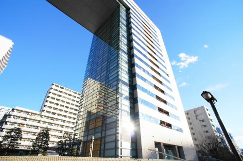 Exterior of Riverge Shinagawa