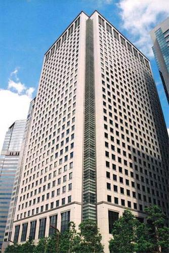 Exterior of Shinagawa Grand Central Tower