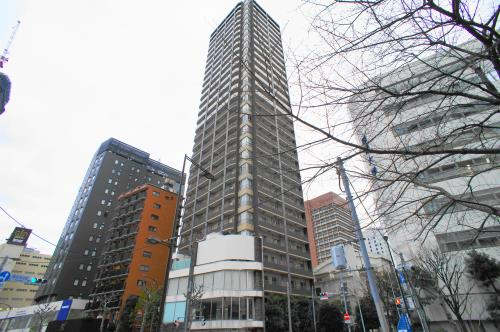 Exterior of Park Cube Atagoyama Tower