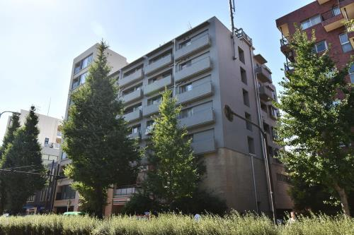 Exterior of Shirokanedai Apartment